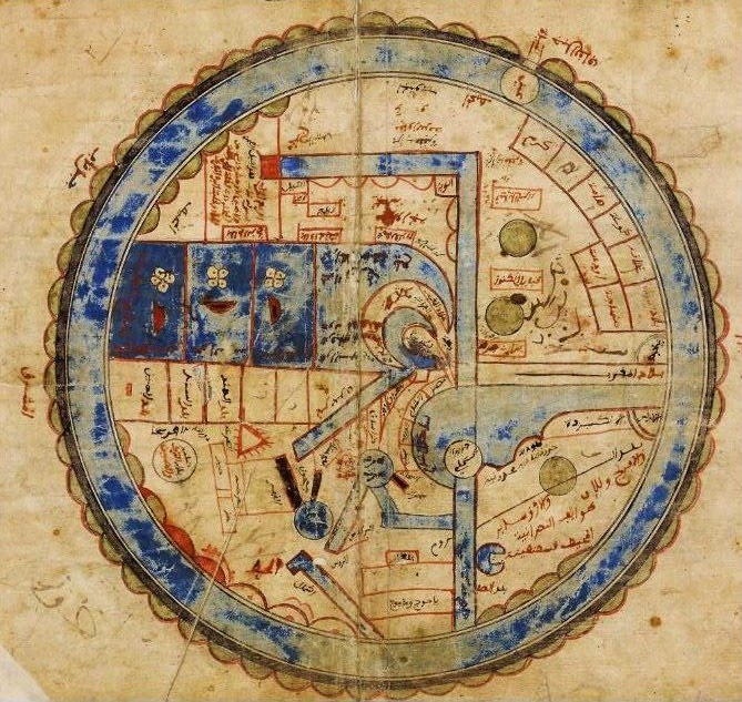 Oldest Map Of America.Top 10 Maps From Muslim Civilisation When North Was South And South