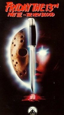 Friday the 13th Part VII movie cover