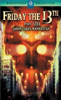 Friday the 13th VIII movie cover