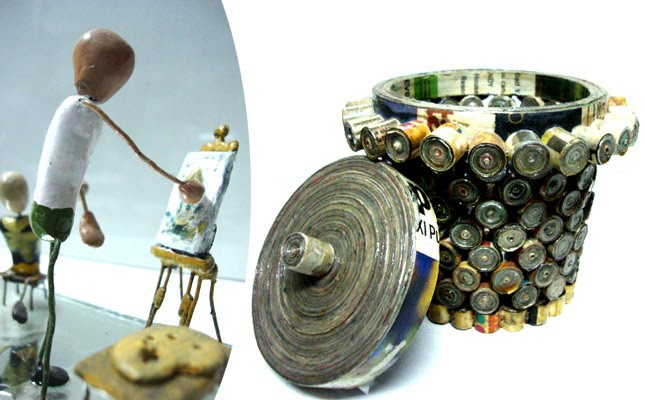 Art of waste material hobby courses in gurgaon for Craft work with waste material