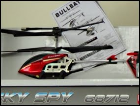 Remote Control Camera Helicopter