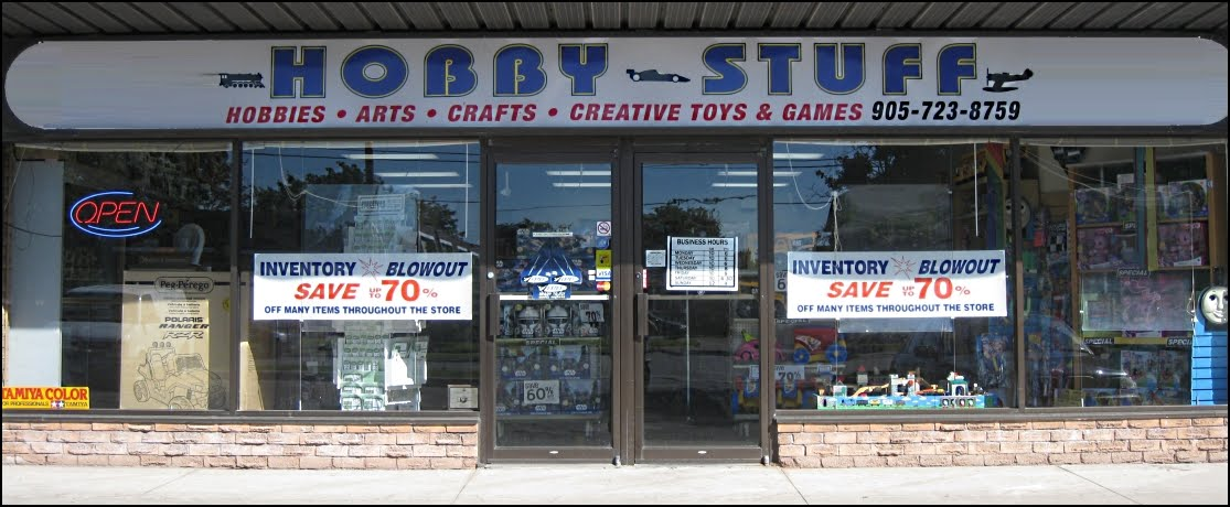 Hobby Shop Toy Store