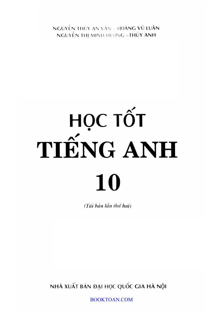 hoc tot tieng anh 10