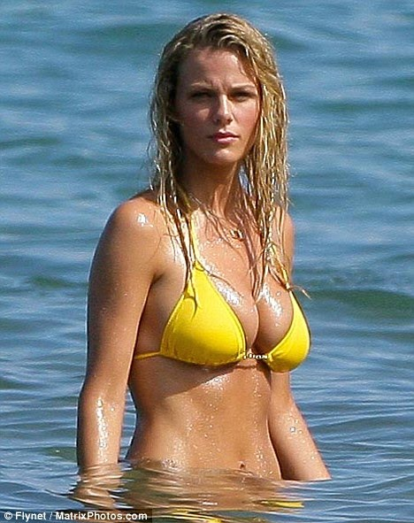Does brooklyn decker have real boobs