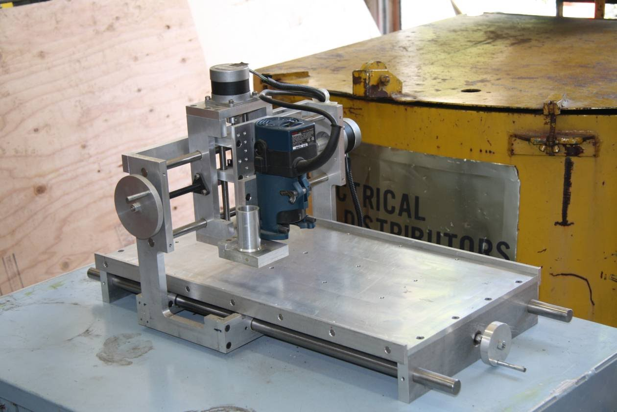 Homemade cnc router 400 homemadecncrouter for Home built router