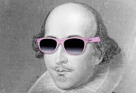 Shakespeare wearing shades