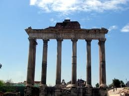 Temple of Saturn - Honors Latin III Roman Forum Project
