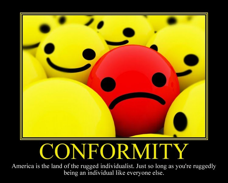conformity as a psychological concept Psychology definition for conformity in normal everyday language, edited by psychologists, professors and leading students help us get better.