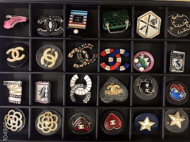 chanel brooch collection
