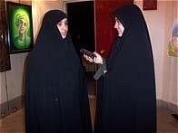 جانباز هنرمند حسین آقا نوری و همسر گرامیشان خانم دکتر نادیا مفتونی