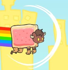 I don't know why there's a Nyan Cat reference. I really don't.
