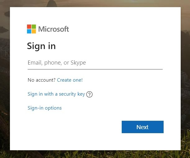 Account to login in hotmail Hotmail sign