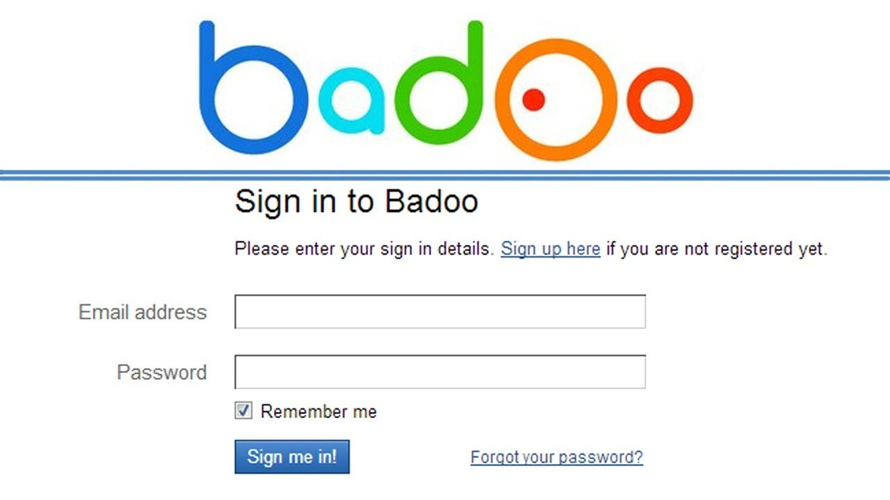 Make badoo account