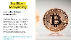 buy bitcoins with credit card anonymously