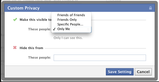 Examples Of Privacy Settings How To Facebook Privacy Settings