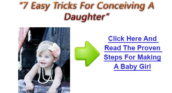 How to get pregnant to a baby girl
