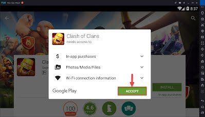 Step by Step To Play Clash of Clans on PC With Nox App Player - How