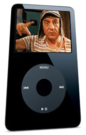 Seriado Chaves no iPod