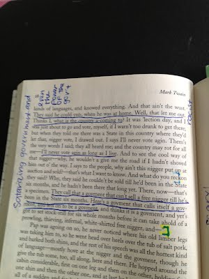 Text and annotations huckleberry finn satire comments ccuart Image collections