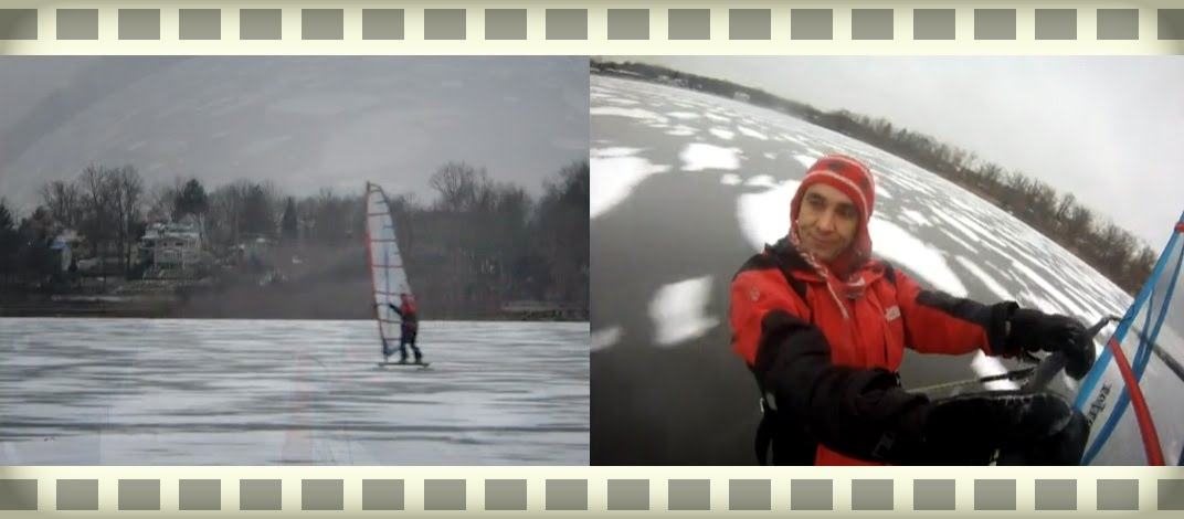 Iggy Ice Windsurfing