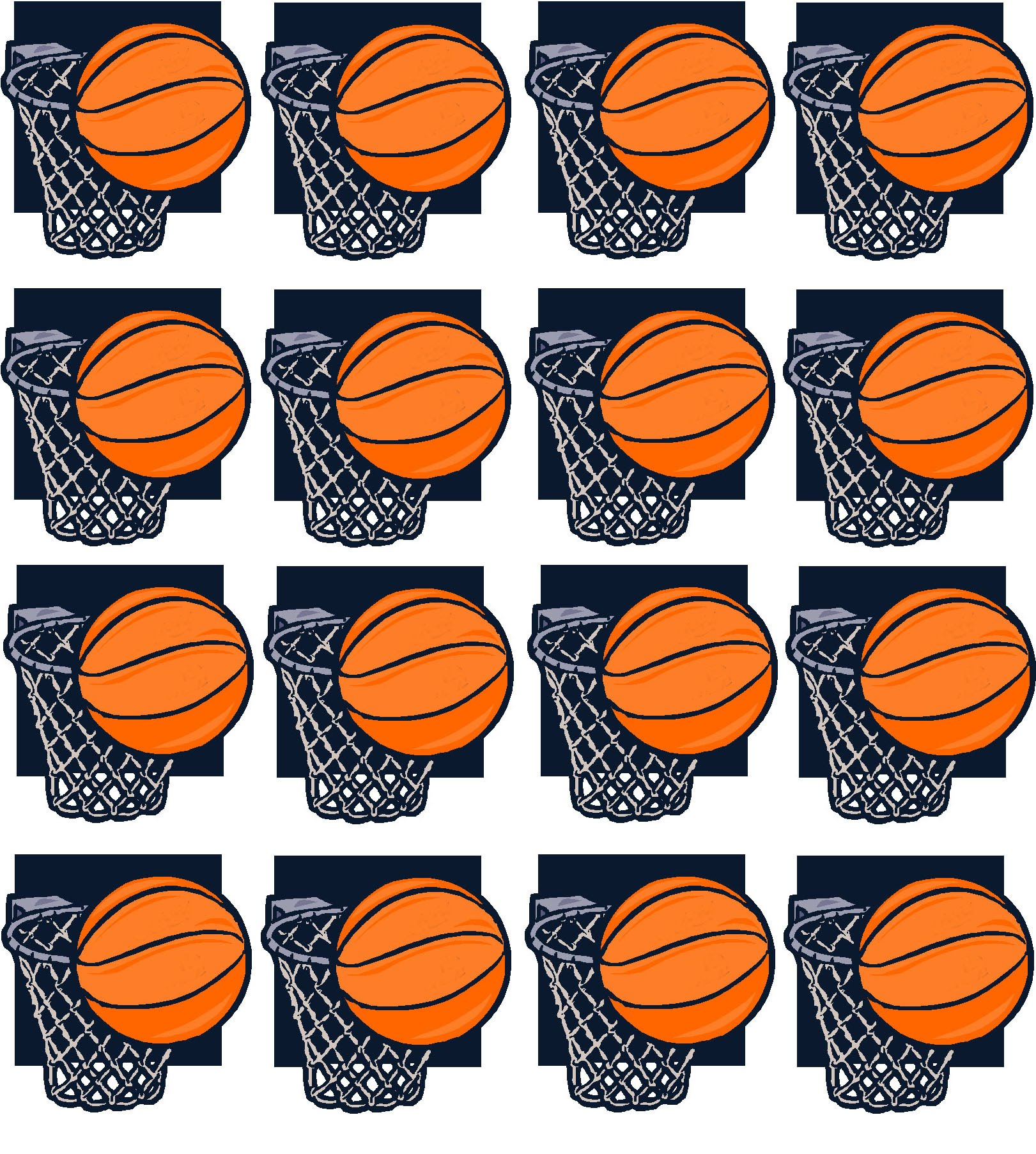 picture relating to Printable Basketball identified as Basketball Printable