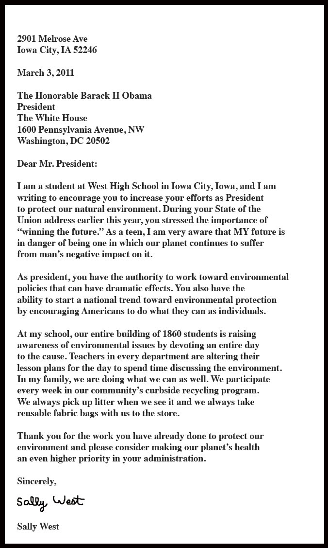 letter to the president University of north carolina president margaret spellings, a former  president  george w bush, echoed your views in a recent op-ed in the.
