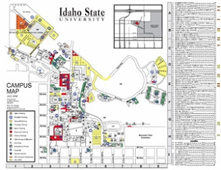 University Of Idaho Campus Map Venue Map (Reed Gym)   Idaho AHPERD 2015 Summer Conference