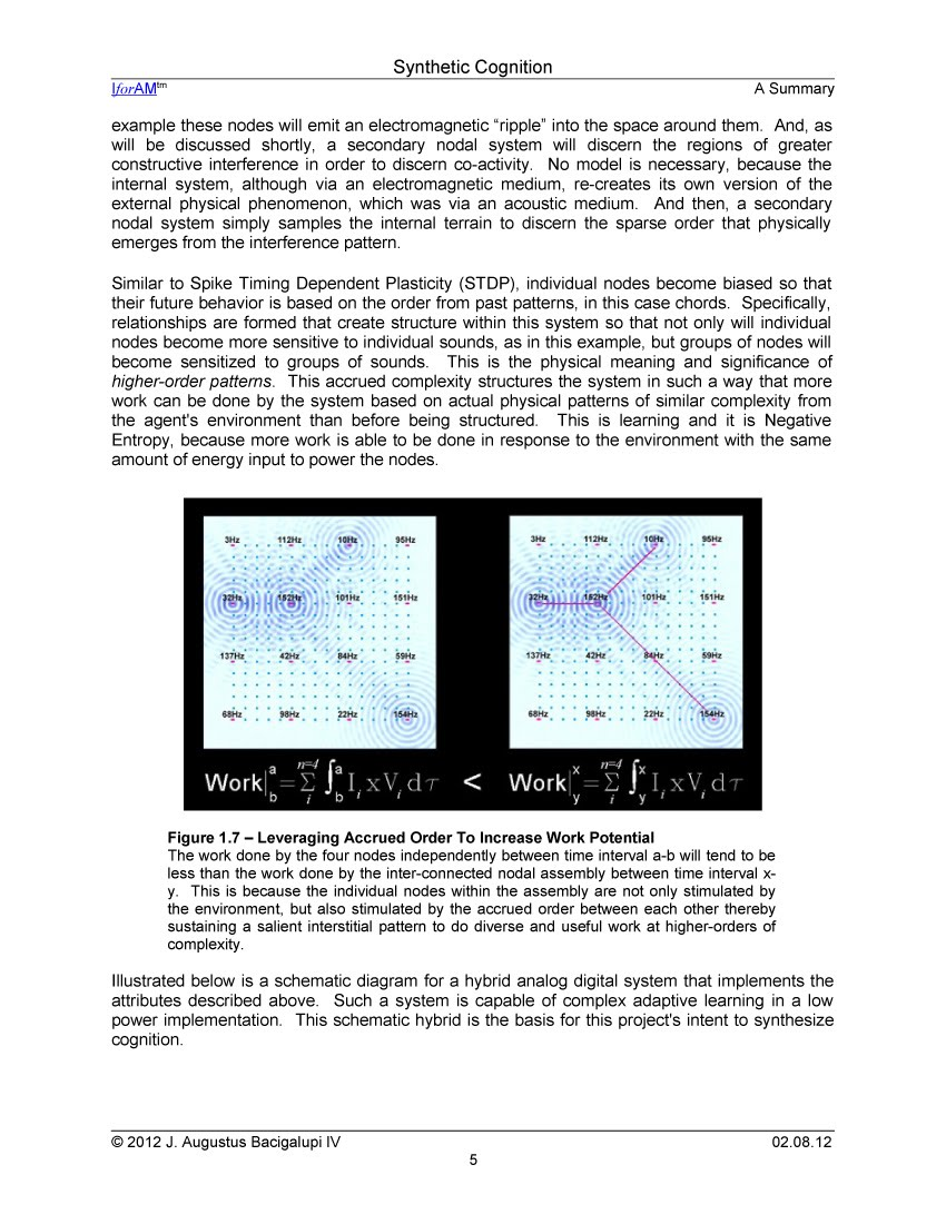 Synthetic Cognition Summary - Page 5