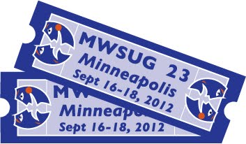 MWSUG 2012 in Minneapolis!