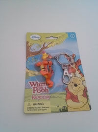 Disney's Tigger from Winnie the Pooh collectible keyring