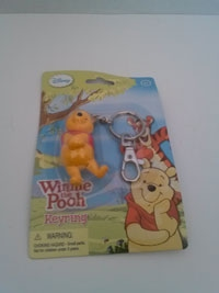 Disney's Winnie the Pooh collectible keyring