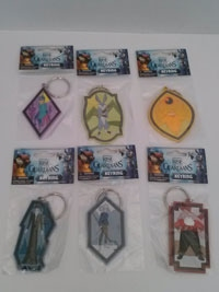 Rise of the Guardians keyring collection