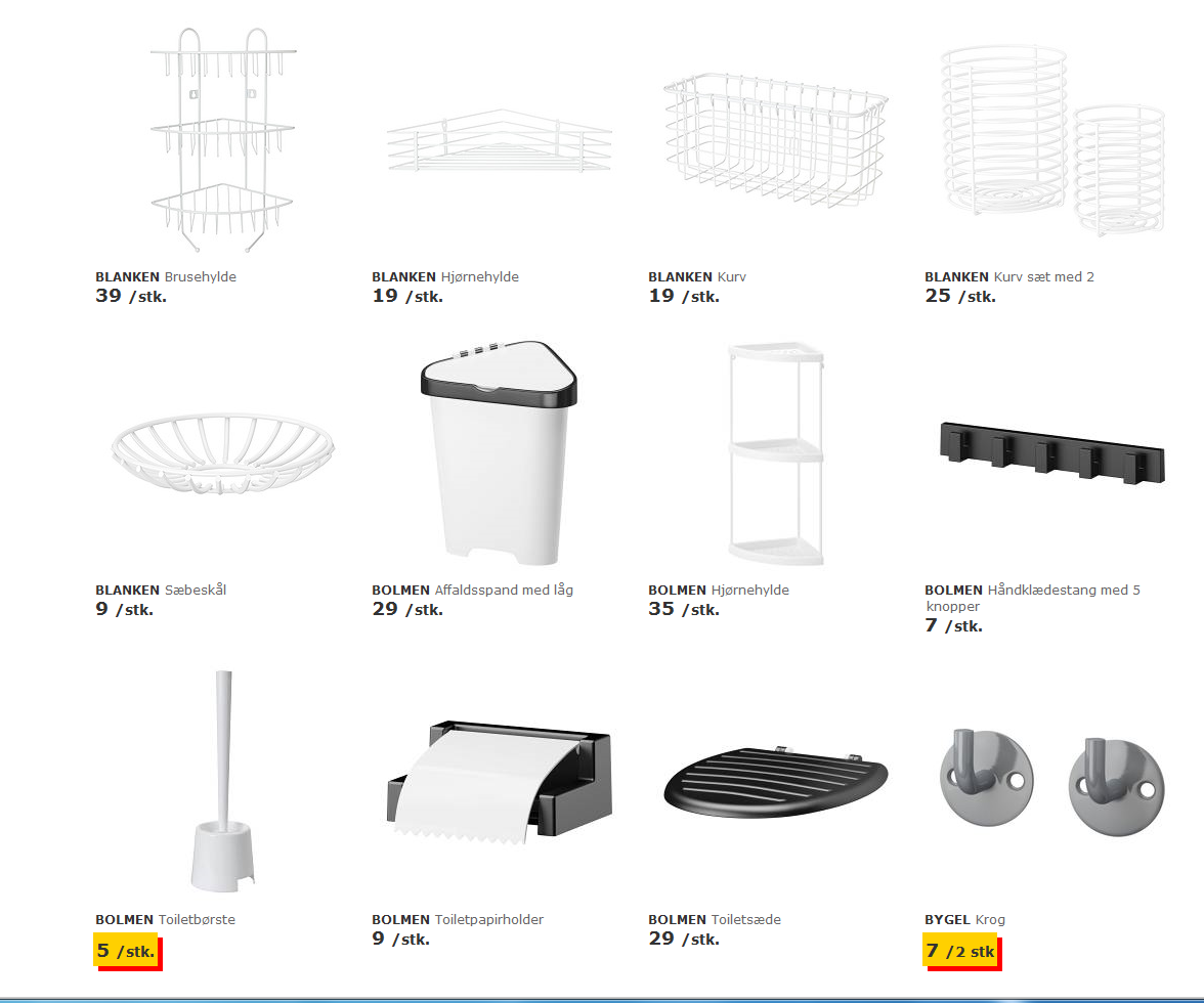 Picture of: Badevaerelse Ikea