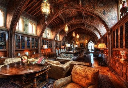 Biblioteca de William Randolph Hearst