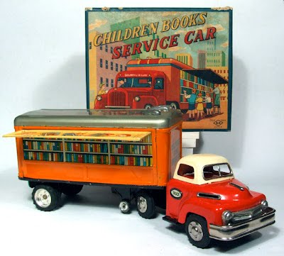 The Children Book Service Car, 1950s