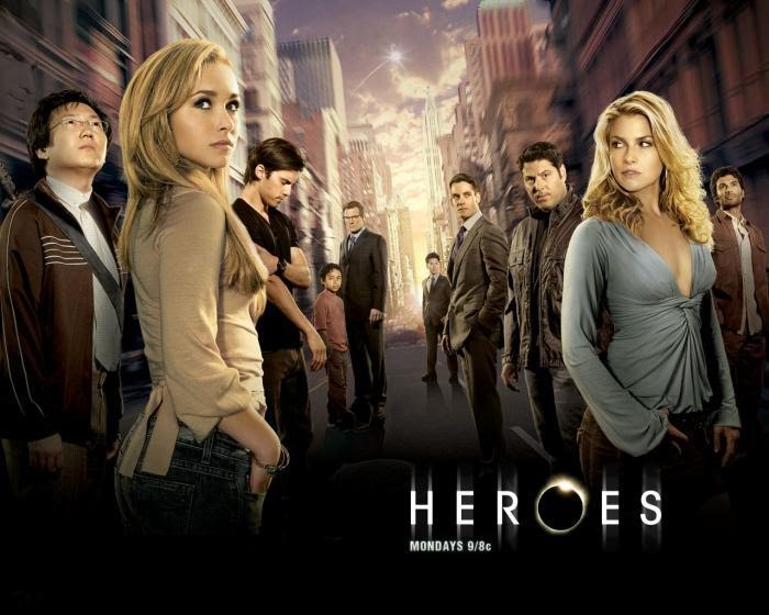 The superb cast of Heroes
