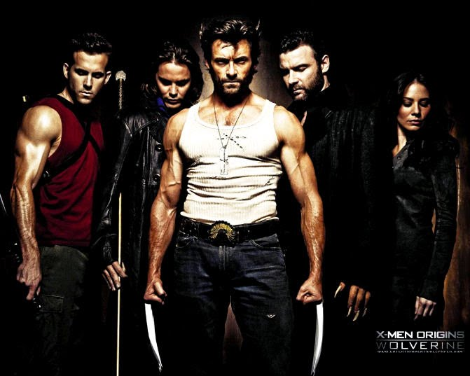 Some of the Marvel characters in the superb X-Men Origins: Wolverine