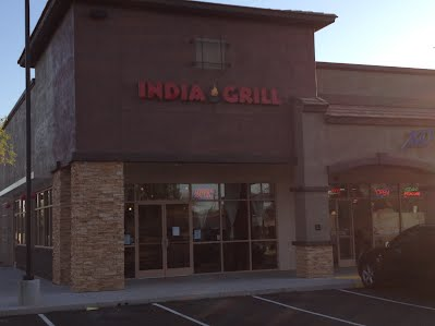 Outside Look of India Grill