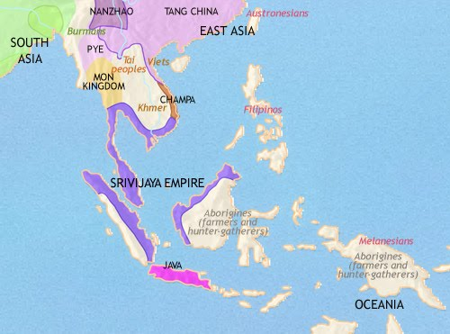 Map Of Asia In 500 Ad.Indian Ocean Community