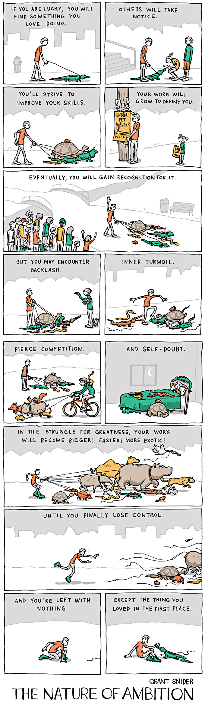 The nature of ambition