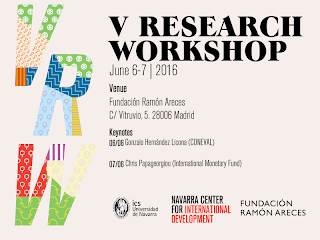 Novedades: V Research Workshop Fundacion Areces