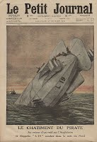 Zeppelin L 19 - the end of one of the Zeppelins involved in bombing of the West Midlands
