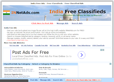 Top 7 Instant approvals Free Classified sites in India