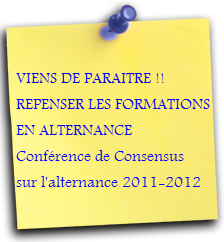 REPENSER LES FORMATIONS EN ATERNANCE
