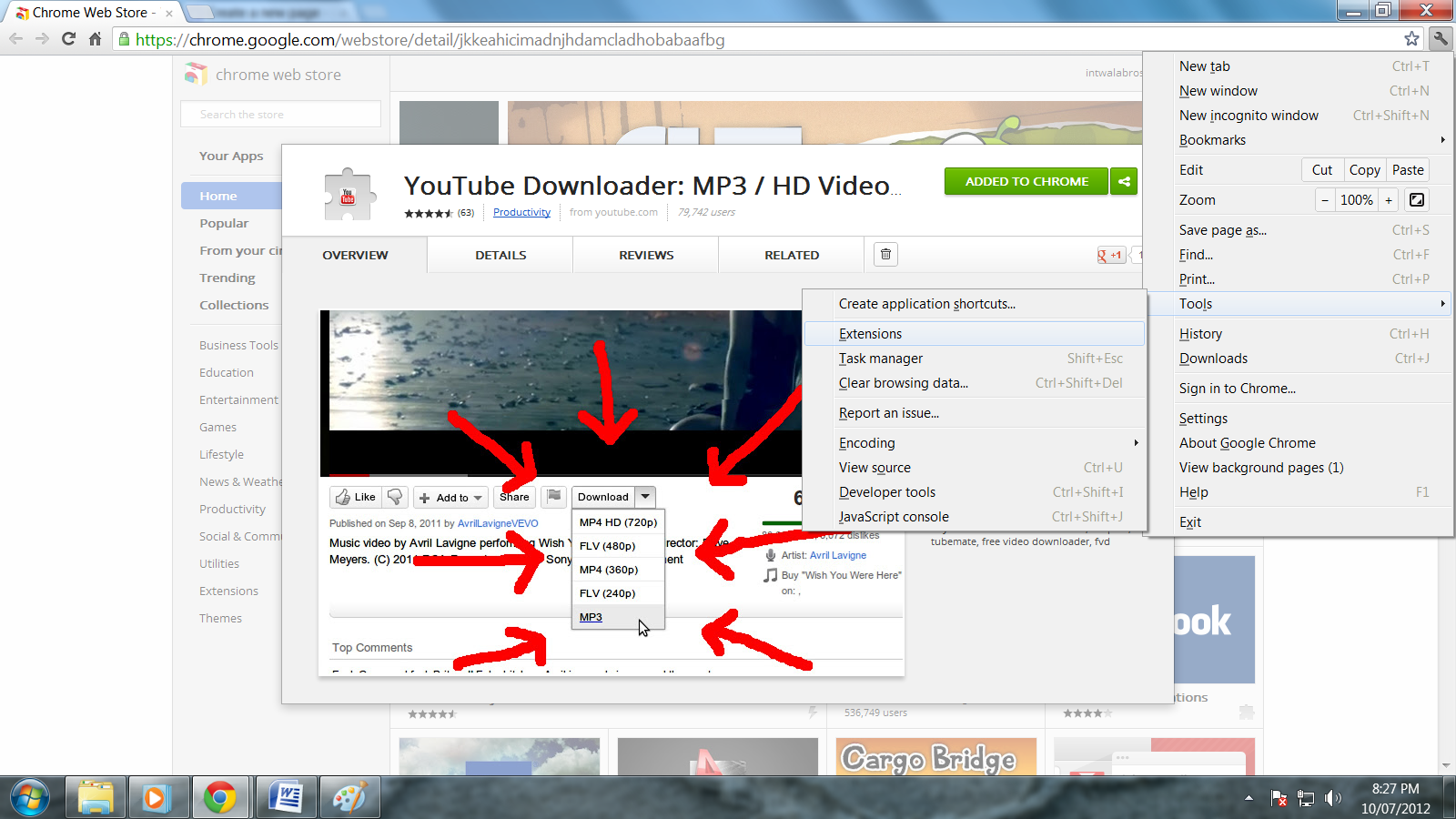Youtube Downloader For Chrome Extension 2012 Movie - ohiosima
