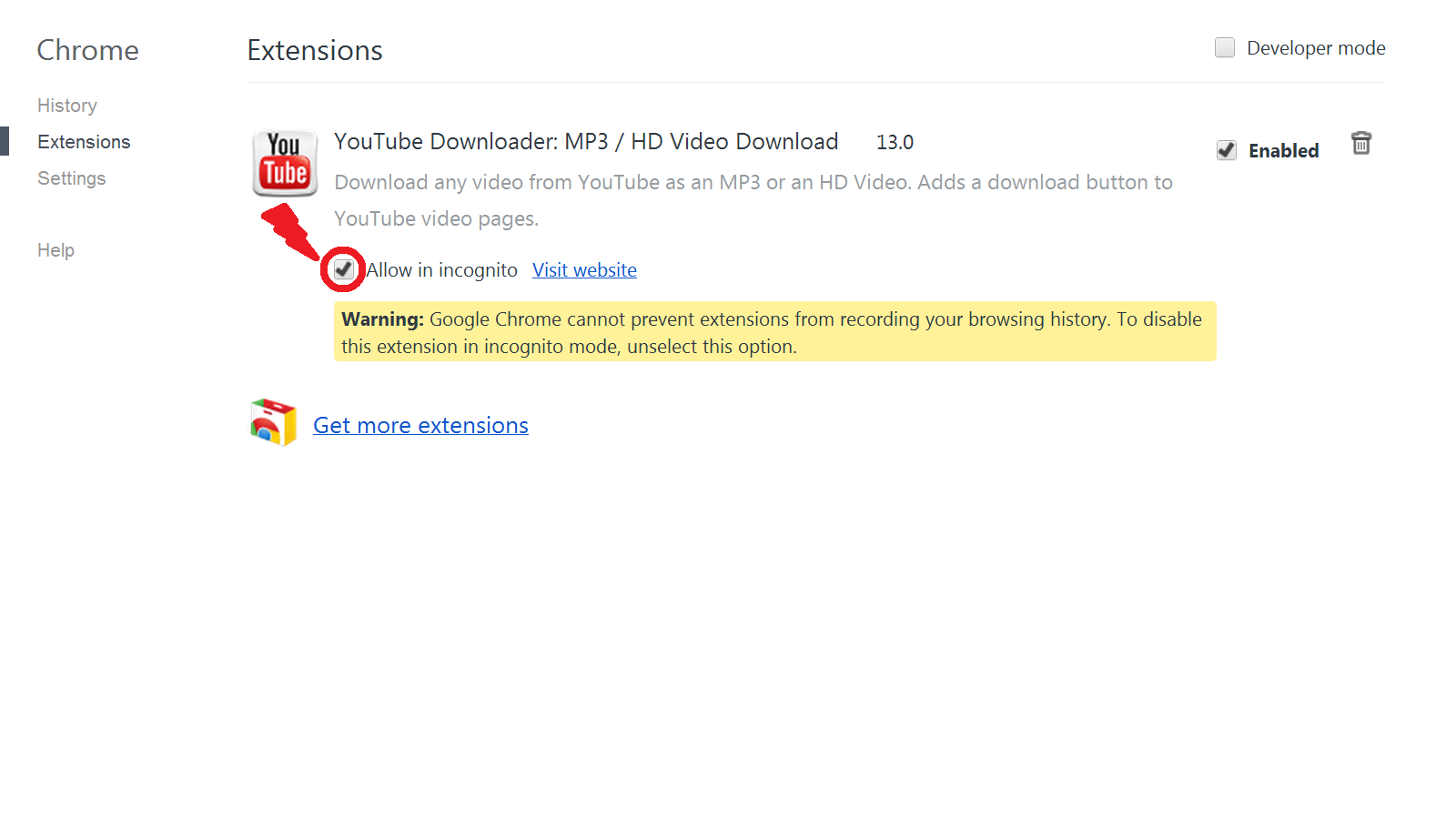 Now Visit The Youtube Video And You Will Find A 'download' Button That's It