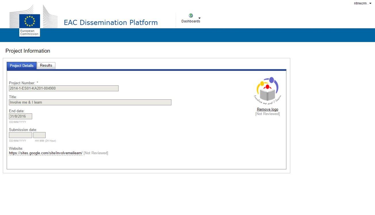 EAC Dissemination Platform