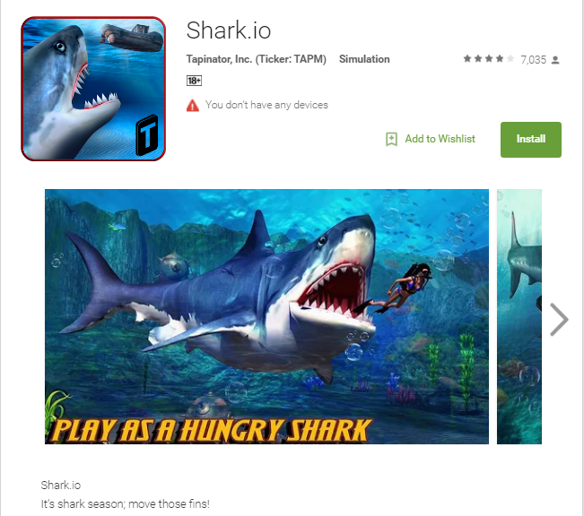 Unblocked shark fishing games gamesworld for Shark fishing games