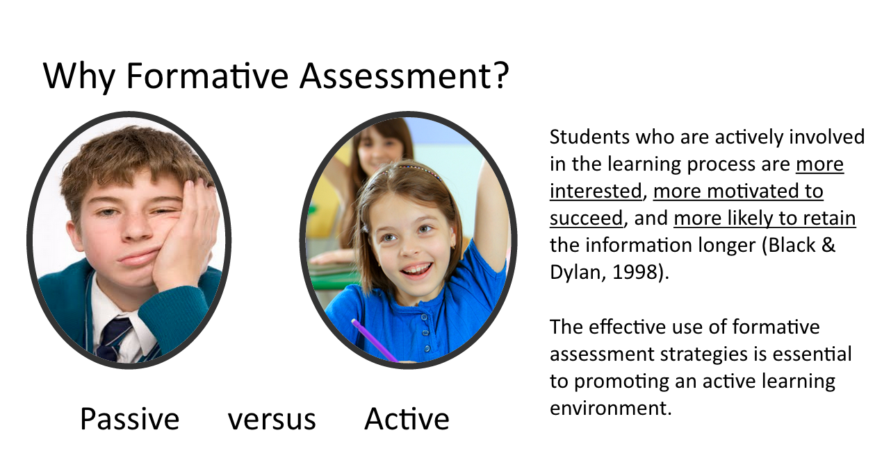 essay on importance of formative assessment Diagnostic/formative/summative assessment •classroom cultures are important to effective formative assessment practice writing skills essay questions.