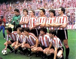 El Athletic del 'doblete' en la Final de Copa de 1984